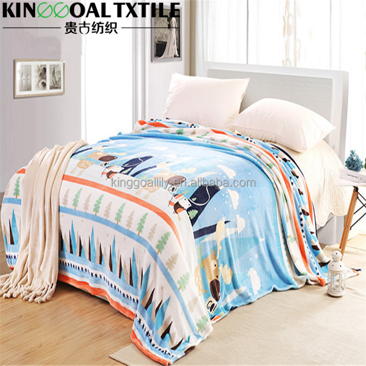 New friendly and health soft 100% bamboo cotton blanket/throws Queen/King/Cal King