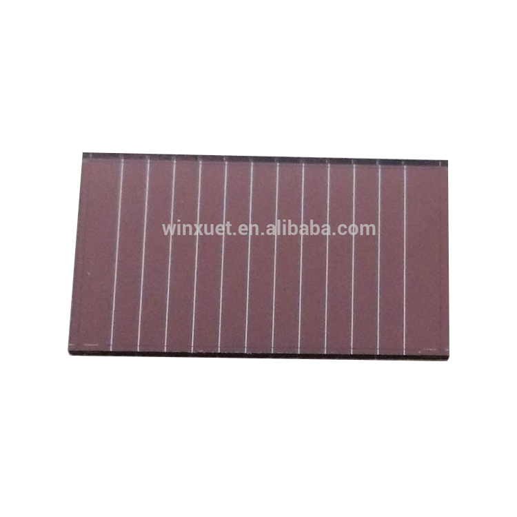 37x21.8mm 6V 2mA outdoor used Thin Film Amorphous Silicon Solar Cells for Outdoor Products