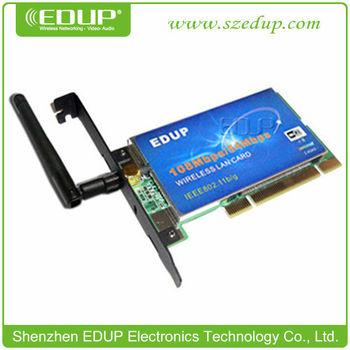 DRIVER UPDATE: EDUP WIRELESS PCI ADAPTER
