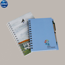 Promozionale LOGO stampato rilegato a spirale personalizzato <span class=keywords><strong>notebook</strong></span>