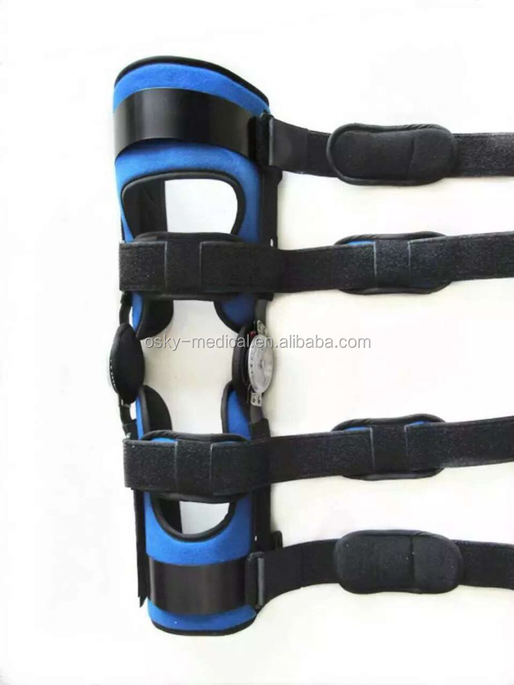 Medical Supply Orthopaedic Knee High Leg Brace, Knee Supporter, Tri-panel Knee Immobilizer