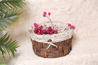 Flower baskets handmade gifts flower decoration baskets