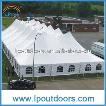 Lp Outdoors Big Luxury Cheap Steel Pole High Peak Frame Tent For ...