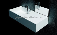 Artificial stone resin wash hung basin solid surface wash sinks GM-2057
