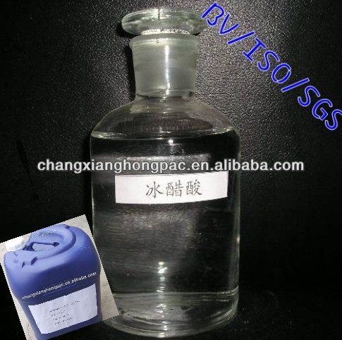High pure Glacial Acetic Acid for acetic anhydride