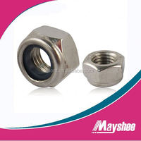 self locking nut with nylon insert