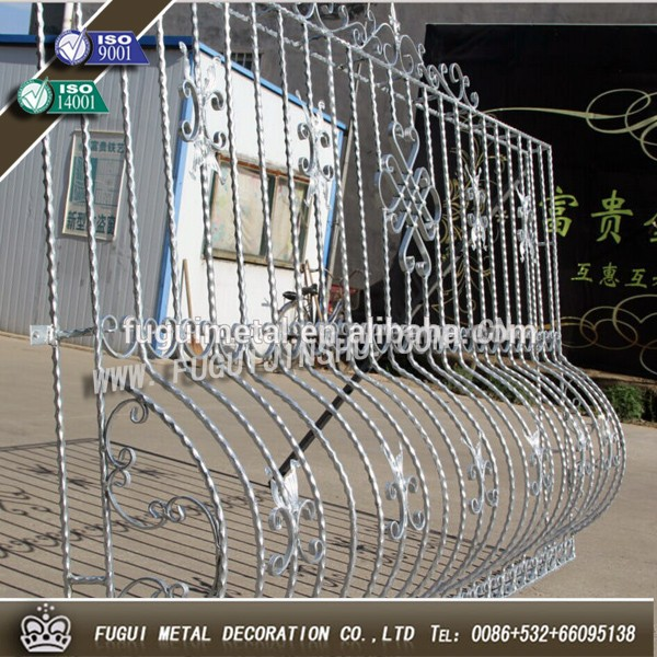 2015 Years Hot-sell New Type Iron Window Grill Design
