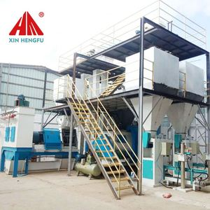 poultry feed manufacturing equipment for animal feed processing plant