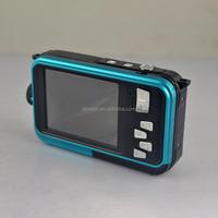 2016 new 24 Megapixels dual screen digital action camera waterproof