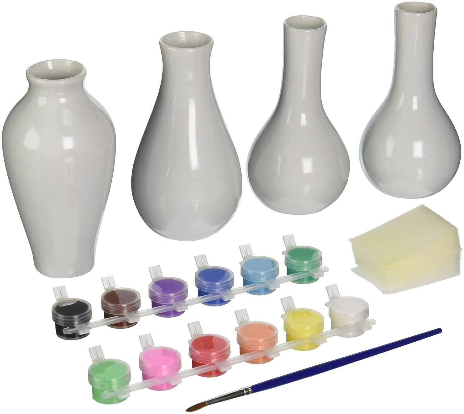 Family Games Vases Porcelain Paint Kit