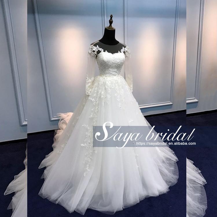 2017 nueva primavera coreano princesa cabestro vestido de novia de ...