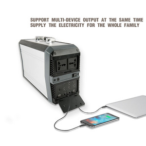 500W Standby Backup Battery Power Source (Lithium)- Uninterruptible Power Supply(UPS) 532WH portable power station