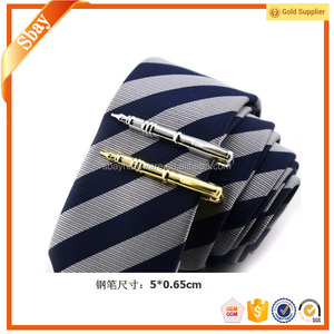 Fashion sword aviation custom pen shaped tie clip