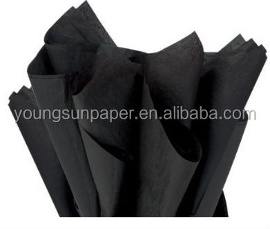 free sample 50*70cm black tissue <strong>paper</strong> wrapping tissue <strong>paper</strong> with black wrapping packing tissue <strong>paper</strong>