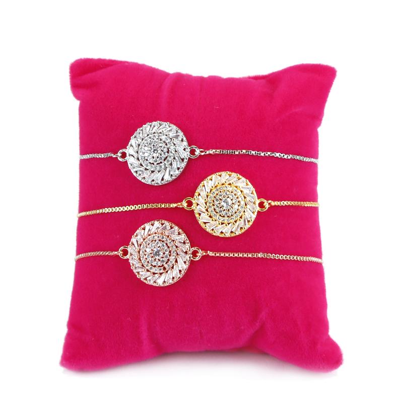 Cubic zirconia bracelet,  bridesmaid gift, delicate bracelet