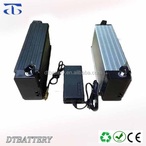 E-Bike (24v 36v 52v 60v) 48V 12.5Ah Rear Rack Battery pack 350W 500W Electric Bike lithium ion battery with BMS