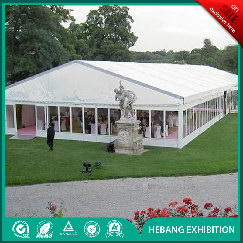 Aluminum Clear Roof Transparent Outdoor Marquee Praty Event Wedding Tent