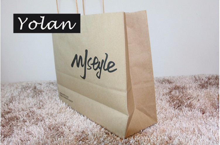 Recyclable Custom Kraft Paper Bag manufacture