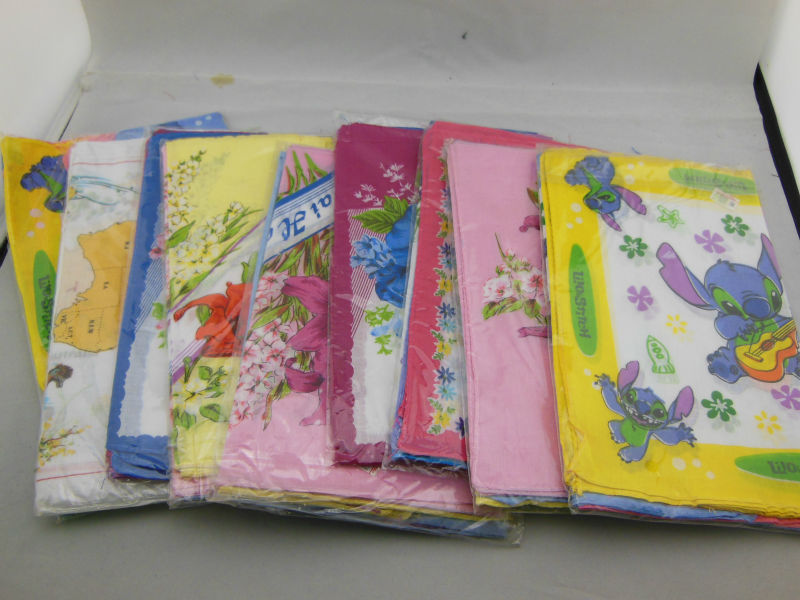 Factory Outlet many many colors Ladies printed handkerchief