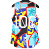 China custom quick dry singlet supplier, men gym tank top