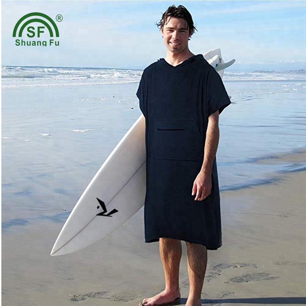 Changing Robe Bath <strong>Towel</strong> For Adult Hooded Beach <strong>Towels</strong> Poncho Bathrobe Suitable For Women Man Terry