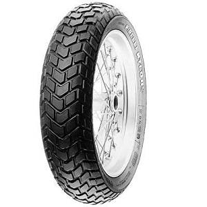 Pirelli 2402500 MT60-R Front Tire - 110/80R-18 , Position: Front, Rim Size: 18, Tire Application: All-Terrain, Tire Size: 110/80-18, Tire Type: Dual Sport, Load Rating: 69, Speed Rating: H, Tire Construction: Radial