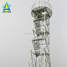 Hot dipped galvanized 40 meter guard towers for Tanzania