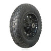 14 inch black rim and tyre pneumatic rubber wheel for slae
