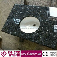 wholesale blue pearl granite bathroom vanity tops