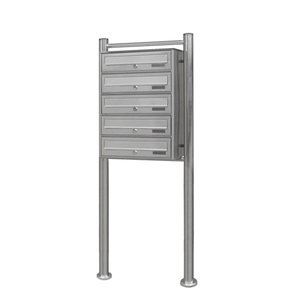 Outdoor Waterproof Apartment Stainless Steel Free Stand Mailbox