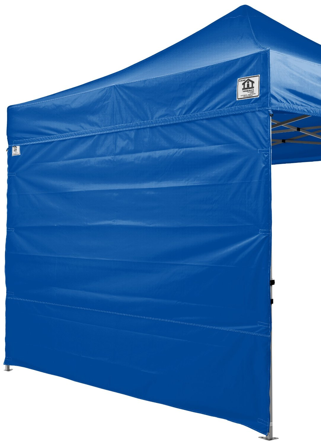 Impact Canopy Side Wall Kit, Canopy Walls for 10x10 Instant Pop Up Canopy Tent, Walls Only, 2 Pack, Royal Blue