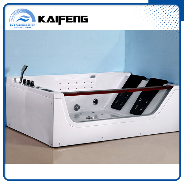 Cheap Hangzhou Double Whirlpool Massage Bathtub
