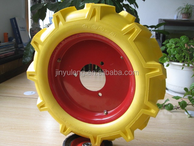 advanced 400-8 agriculture tyre /wheels for mini tractor