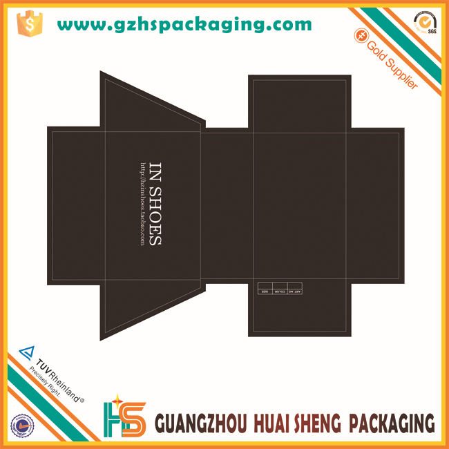 Direct Factory Custom Made Paper Shoe Box Template Wholesale - Buy ...