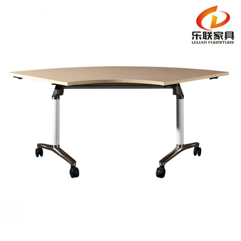 high end aluminum folding conference table foldable office computer