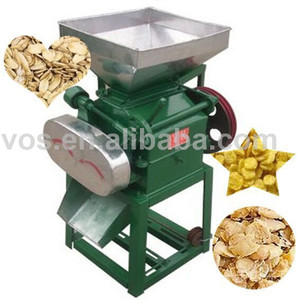 High quality grain oat flaker machine, Grains wheat corn beans soya flakes flaking mill machine to make porridge