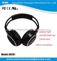 Cheap Laptop 2.4G Wireless Headphone With Mic