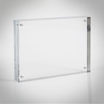 Acrylic 8x10 Magnetic Photo Frameplexiglass Double Side Acrylic