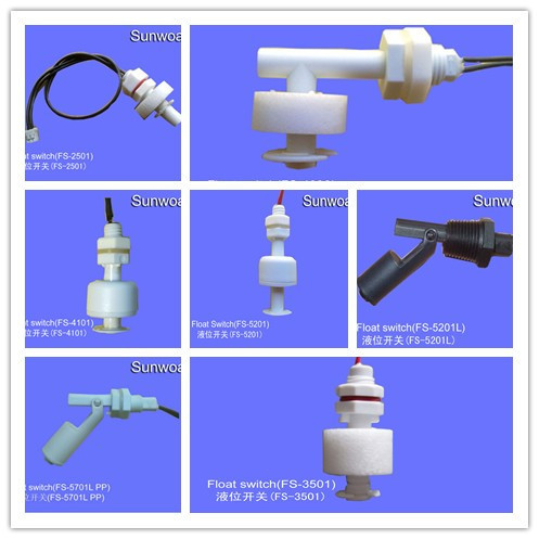 Plastic Pp Magnetic Float Level Switch Sensor To Switch On /off ...