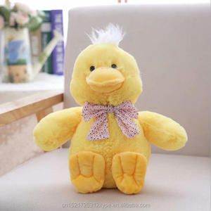 Custom color Cute yellow duck dolls stuffed plush toy girls children gifts