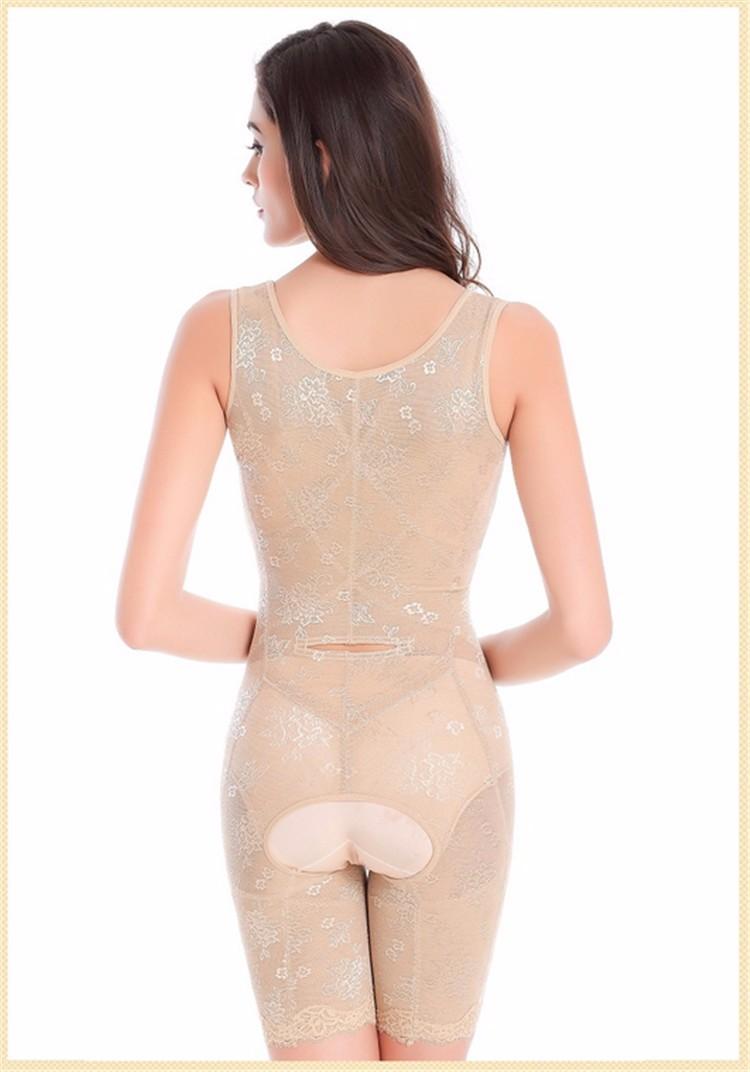 3d26adaa9dd Hot Bottom Open Spandex Nylon Lace Shapewear Underbust Zipper Body Shaper  Suit
