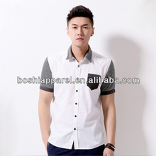 Made in China Chiese Famous Brand shirt for men Offer OEM Service