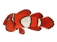 plush clown fish toy/ stuffed clown fish plush toy/ plush tropical fish soft toy