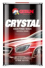 Car wax crystal coating wax