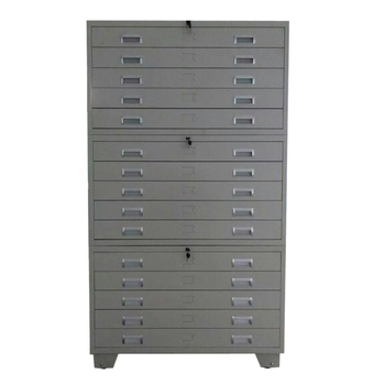A0 Size High Quality Metal Durable Flat File Cabinet And Map Drawing Storage