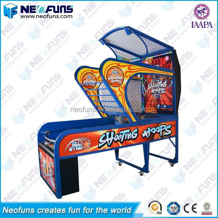Exciting Ticket Redemption Arcade Game Athletic Street Basketball Machine