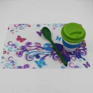 Promotional Custom Plastic PP Plate Dining Table Mat