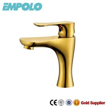 Gold Golden Badezimmer Armaturen Wasser-mischer Mit Guten Preisen 80 1101g  - Buy Gold Badarmaturen,Goldenen Gold Wasser Mischer Preise,Vergoldete ...