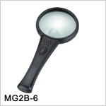 MG15117-A 90mm table lamp hands free desktop led reading magnifier magnifying glasses