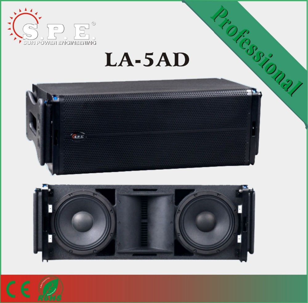 Dual 10inch Active Powered Stage Line Array Speaker System/outdoor ...